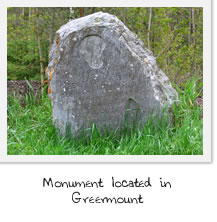 Monument at Greermount
