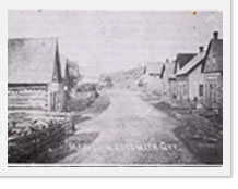 Main Street Ladysmith, Turn of the century